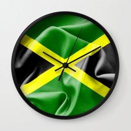 Jamaica Flag Wall Clock