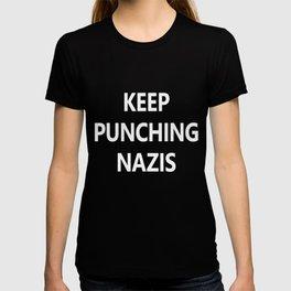 Keep Punching Nazis T-shirt