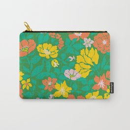 Leaf and Bloom Carry-All Pouch