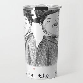 Laurel & Hardy Travel Mug
