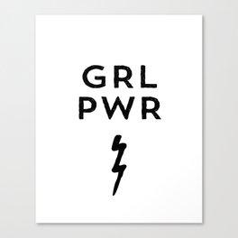 GRL PWR Canvas Print