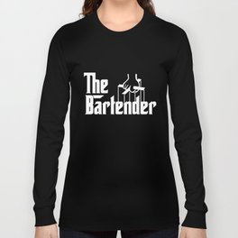 Bartender Gift For Bartender Profession Occupation music T-Shirts Long Sleeve T-shirt