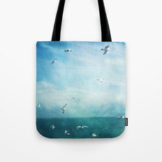 brighton seagulls 3 Tote Bag