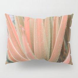 Pink aloe Pillow Sham