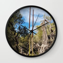 Get Out There Wall Clock