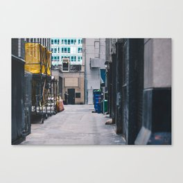Maestro Alleyway Canvas Print