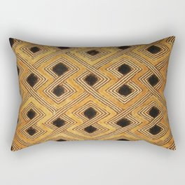 African BaKuba Rectangular Pillow
