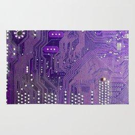 computer main board texture Rug