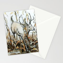 Running through the Cornfield Stationery Cards