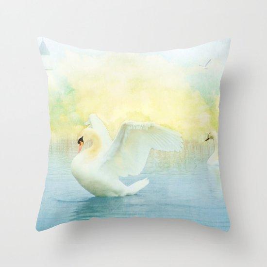 Mystical Dance Throw Pillow