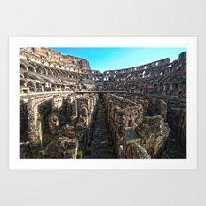 Collisio Art Print