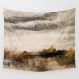 Steppe landscape Wall Tapestry