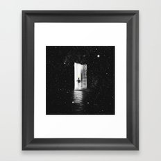 H A N D  O F  G O D Framed Art Print