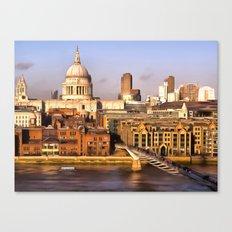 London In Art Canvas Print