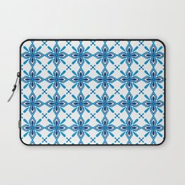 Sky Blue Tiles Laptop Sleeve