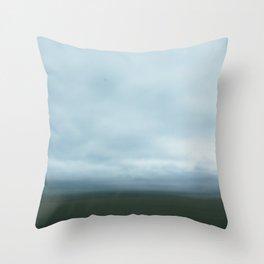 bluegrass parkway Throw Pillow