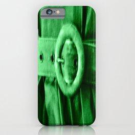 Green Vintage BELT iPhone Case