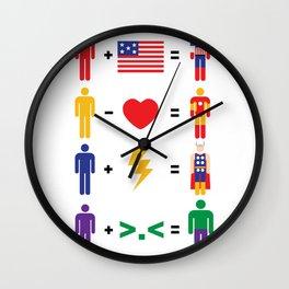 Assemble Math Wall Clock