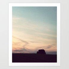 Evening Mood Art Print