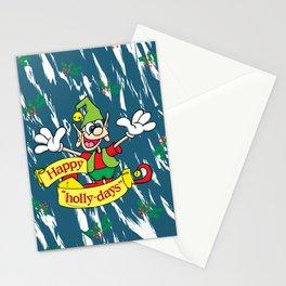 "Happy ""Holly-days"" Stationery Cards"