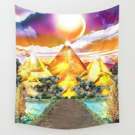Evening Glow Wall Tapestry