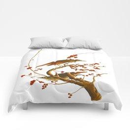Hermit Thrush Bird Comforters