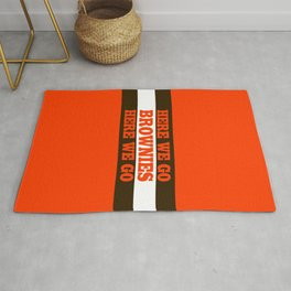 Here We go Brownies Cleveland Rug