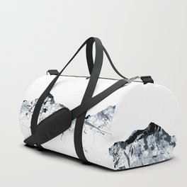 Eiger/Mönch/Jungfrau mountainsplash grey Duffle Bag