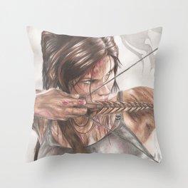 Adventure Found Me Throw Pillow