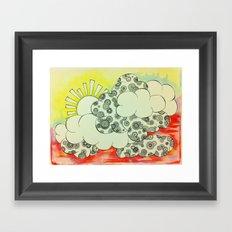 Lush Sunshine Framed Art Print
