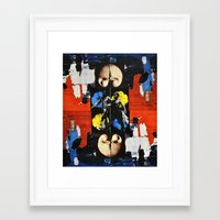 bond Framed Art Prints featuring Bond by Alexander Ikhide