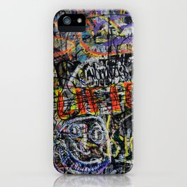 Word On The Street iPhone Case