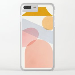 Abstraction_Home_Sweet_Home Clear iPhone Case
