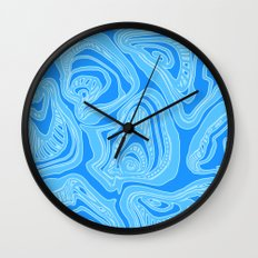 Melting Shells Wall Clock