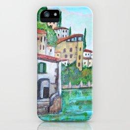 Nesso, Lake Como iPhone Case