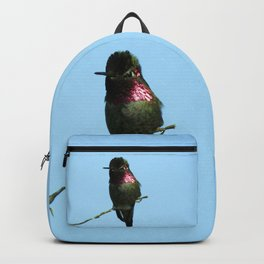 Male Anna's Hummingbird Backpack