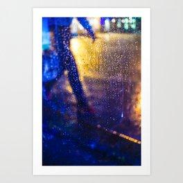 The rain city by Jean-François Dupuis Art Print