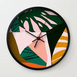 Abstract and geometric 15 Wall Clock
