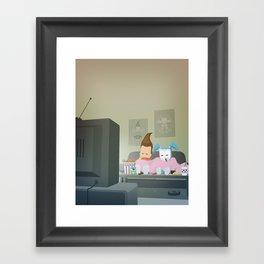 The Nick Yorkers in November Framed Art Print