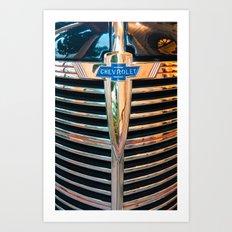 Old Chevrolet Art Print