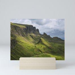 Mesmerized by the Quiraing Mini Art Print