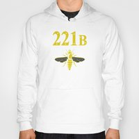221b Hoodies featuring 221B(ee) by sirwatson