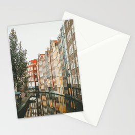 Amsterdam Canals Stationery Cards
