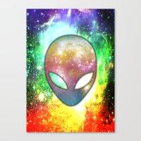 alien Canvas Prints featuring Alien by Spooky Dooky
