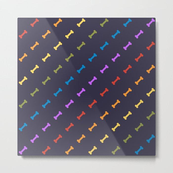 Rainbones Metal Print