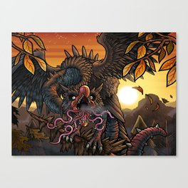 Thorntongue Snallygaster Canvas Print