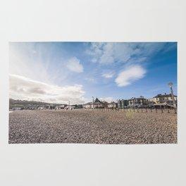 Bray beach landscape Rug