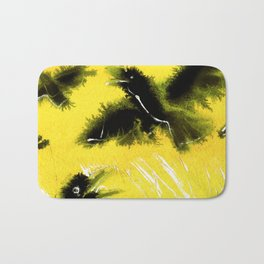 Totem Raven on the air Bath Mat