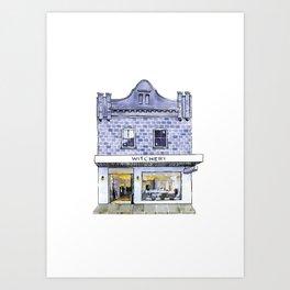 347 Darling St Art Print