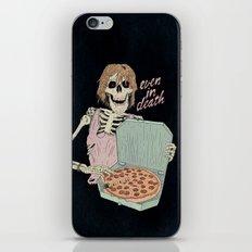 Even In Death iPhone & iPod Skin